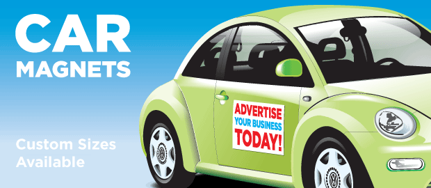 Magnetic Car Signs Commercial Graphics - Custom car magnets